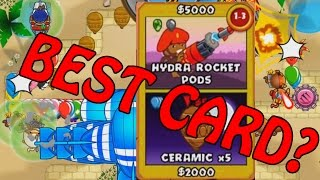Bloons TD Battles - Hydra Rockets AMAZING? or not...  Bloons Card Battles