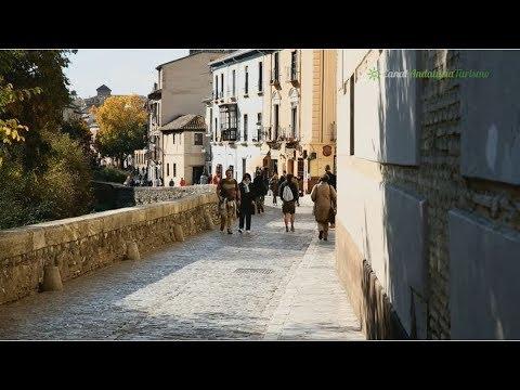 A orillas del Darro, Paseo de los Tristes, Granada