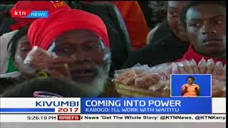 Turkana governor, Josphat Nanok and Kiambu governor, Ferdinand Waititu take oath