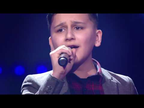 Abu - 'My Heart Will Go On' | Blind Auditions | The Voice Kids | VTM
