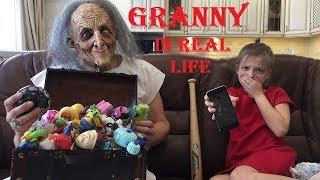 ГРЕННИ БАБКА РАЗБИЛА IPHONE айфон Альке/ бабушка GRANNY в реальной жизни