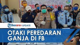 Siswa SMP di Bandung Kendalikan Peredaran Ganja lewat Facebook, Jaringannya hingga Luar Provinsi