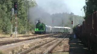 preview picture of video 'Winton Train IV. - příjezd do žst. Vejprnice 1.9.2009'