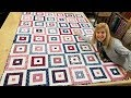 "Let's Make A ""Striped Squares"" FREE FAT QUARTER FUN Quilt!!!"