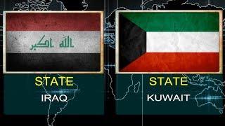IRAQ VS KUWAIT -  Military Power Comparsion  (2018).