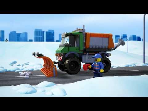 Vidéo LEGO City 60083 : La déneigeuse
