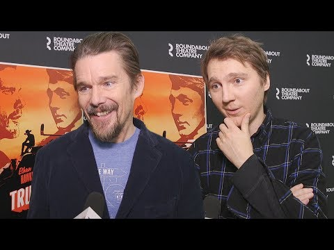 Ethan Hawke and Paul Dano Talk True West's Broadway Return