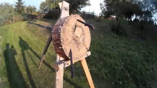 Knife throwing - Bayonet Vz.58  ( vrhání nožem)