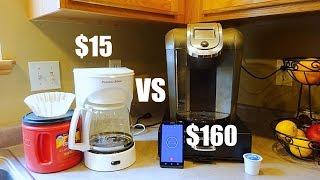 Keurig VS $15 Coffee Maker