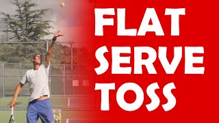 Flat Serve Toss | CONTACT POINT TIPS
