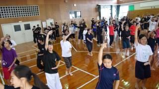 現代版組踊合宿メンバーで踊ったダイナミック琉球