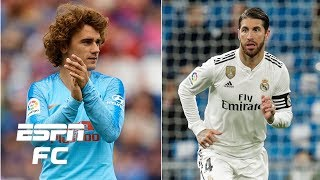 Will Griezmann End Up At Manchester United? Is Sergio Ramos Leaving Real Madrid?   Transfer Rater