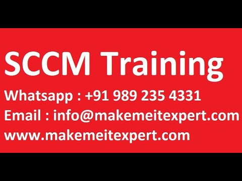 SCCM Training For Beginners | SCCM Lab Setup Step By Step On ...