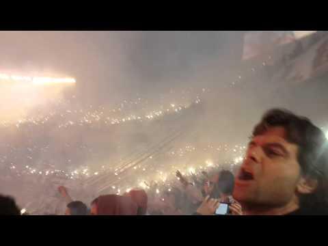 """""""Recibimiento River Plate vs independiente del valle"""" Barra: Los Borrachos del Tablón • Club: River Plate"""