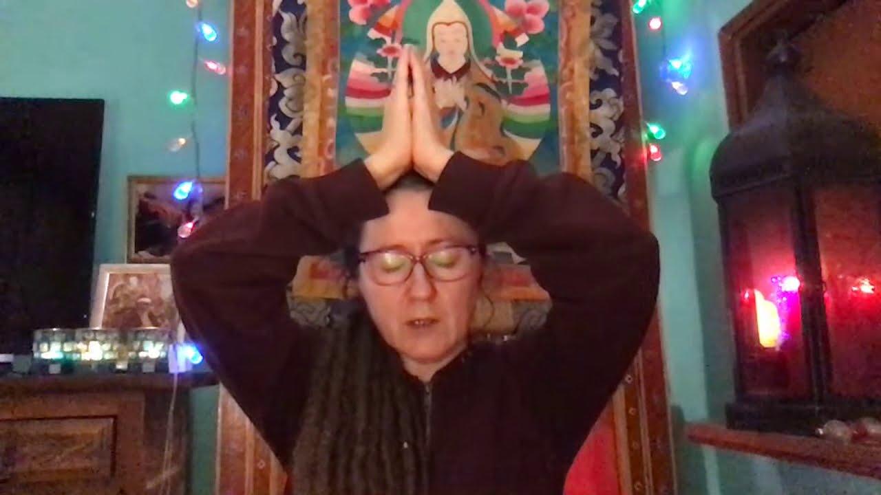 Lama Gangchen Tantric Self-Healing 2- Commentary by Lama Caroline - part 30 (EN)