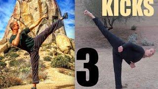 At Home KICKING WORKOUT by Kung Fu & Tai Chi Center w/ Jake Mace