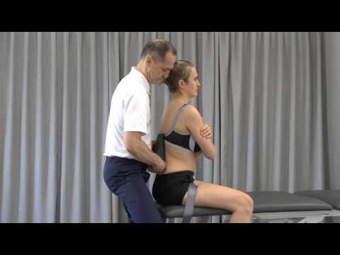 Urządzenie do leczenia kręgosłupa domu