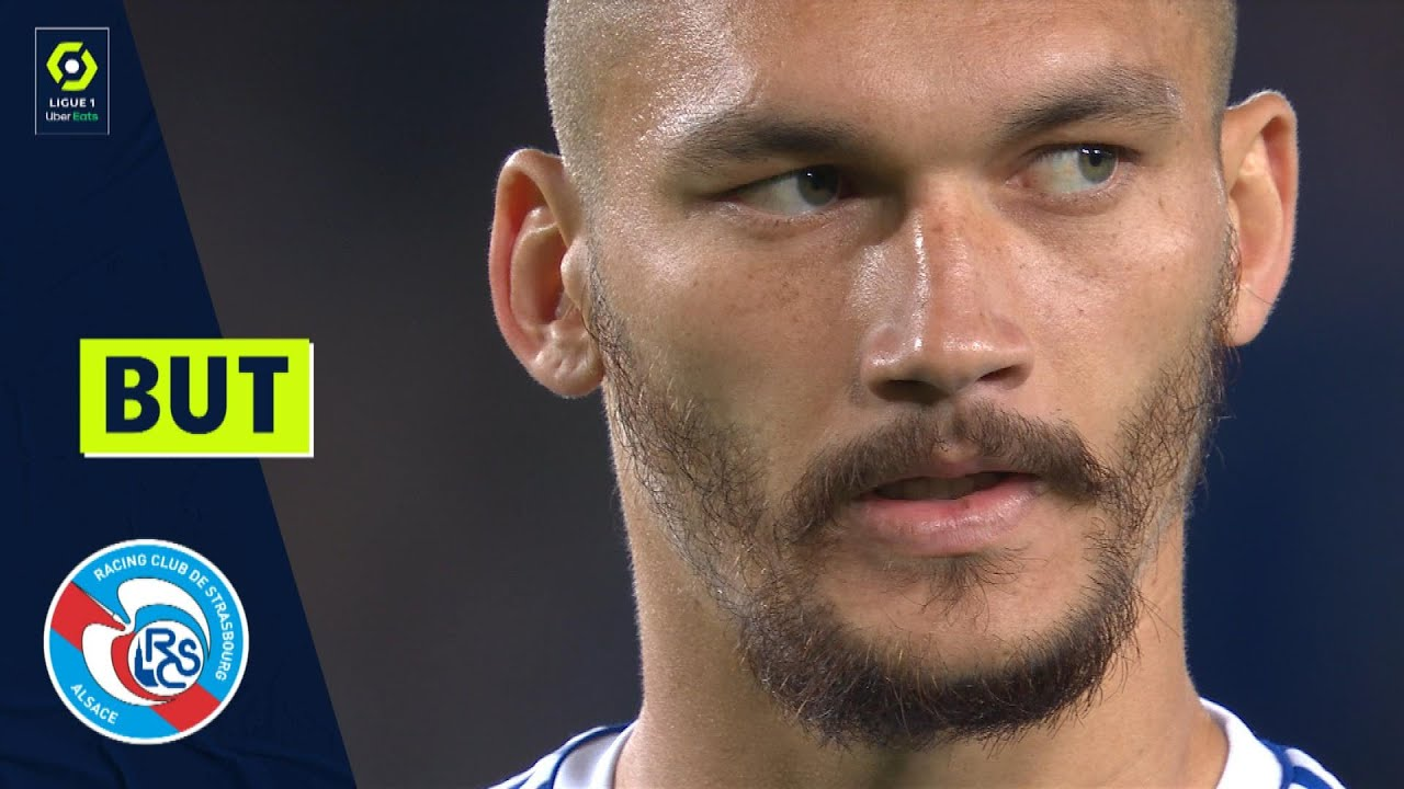 But Ludovic AJORQUE (6' pen - RCSA) RC STRASBOURG ALSACE - FC METZ (3-0) 21/22