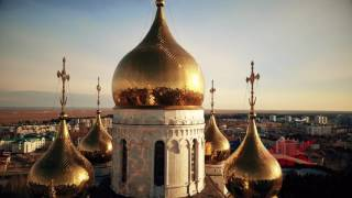 Видео г.Ханты-Мансийск (Аэросъёмка)