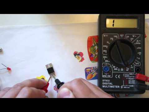 Как прозвонить тестером мультиметром