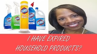 I Have Expired Household Products TOO?