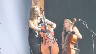 Apocalyptica - Hall of the Mountain King - live @ Sonisphere, Lucerne 4.6.2016