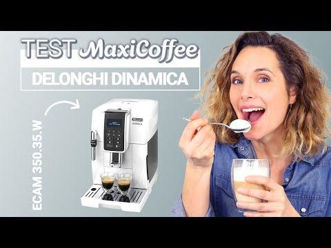 DELONGHI DINAMICA ECAM 350.35.W   Machine à café automatique   Le Test MaxiCoffee