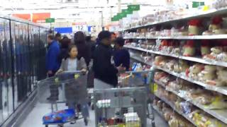 Panic Day At Walmart In Raleigh, NC