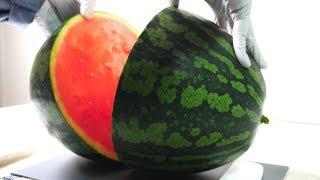수박 자르는 소리 ASMR the sound of cutting watermelon | 한세 HANSE