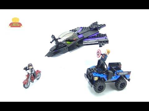 Vidéo LEGO Marvel Super Heroes 76047 : La poursuite de la Panthère noire