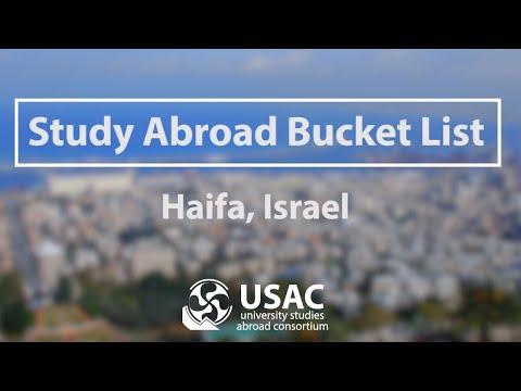 USAC Study Abroad Bucket List - Haifa, Israel