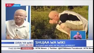 Kutana na Allan Herbert: Mpiga mpicha, mwanaharakati wa haki ya watu wenye albinism | Shujaa wa Wiki