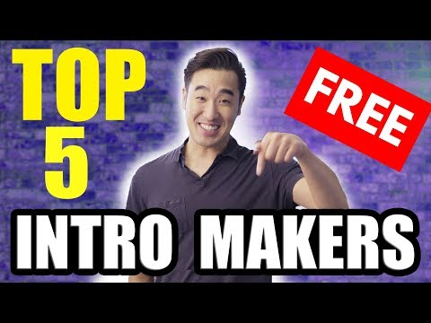 Top 5 FREE YouTube Intro Makers!!!