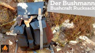 Der Bushmann Bushcraft Rucksack von Steinkauz | Bushcraft Ausrüstung