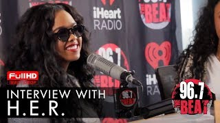 H.E.R. Interview with Terry J & Jazzy T | Made Fresh
