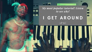 "Piano Tutorial: ""I Get Around"" by 2Pac"
