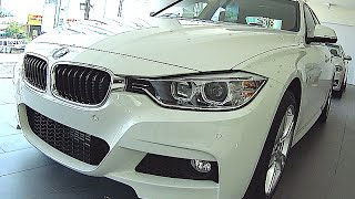 BMW 3 series - BMW 320d M sport 2015, 2016, interior, exterior