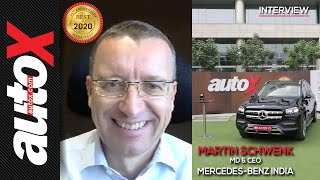 Interview with Martin Schwenk, MD & CEO, Mercedes-Benz India | autoX