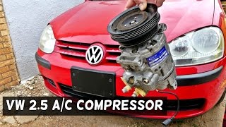 How vw ac compressors fail most popular videos vw rabbit jetta 25 ac compressor replacement removal fandeluxe Gallery