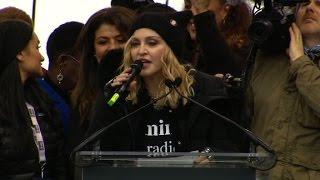 Madonna to march critics: F**k you