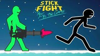 БИТВА СТИКМЕНОВ! Мультяшная игра про СРАЖЕНИЯ НАРИСОВАННЫХ ГЕРОЕВ Stick Fight: The Game