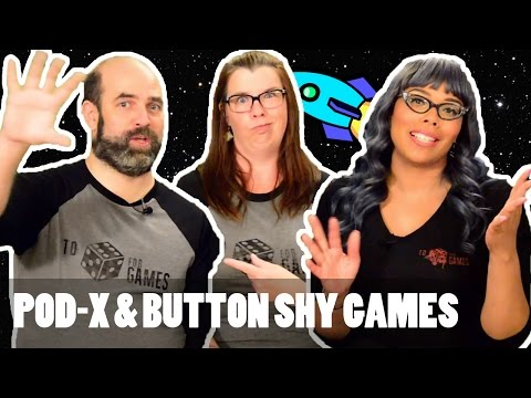 Game Overview and Review: Pod-X and Button Shy Games - To Die For Games