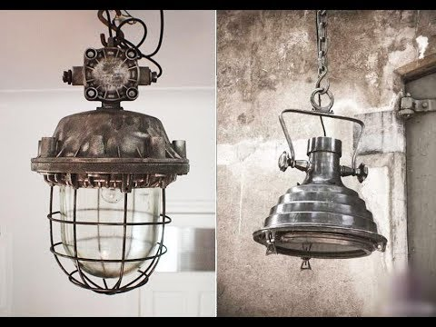 Светильники в стиле ЛОФТ. Стильное решение для современного интерьера