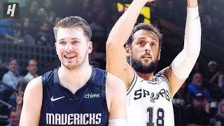 Dallas Mavericks vs San Antonio Spurs - Full Game Highlights   March 10, 2020   2019-20 NBA Season