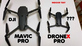 DroneX PRO Drone Indoor Test Flight