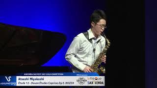 Atsushi Miyakoshi plays Étude 12 – Douze Études Caprices by Eugène BOZZA