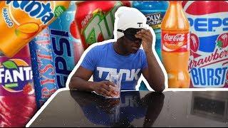 ALL AROUND THE WORLD SODA TASTE TEST (painful)