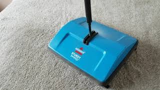 Comparing Two Non Electric Carpet Sweepers