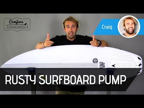 Rusty Pump Surfboard Review + FCS2 AM2 Fins | Compare Surfboards