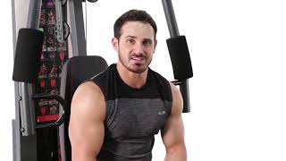Marcy 150 Lb Stack Weight Home Gym   MWM-990